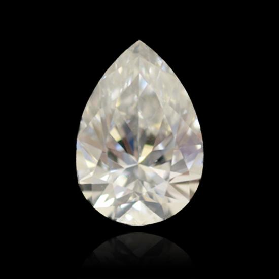 Colorless Diamond, Pear, D, 1.14 Carat