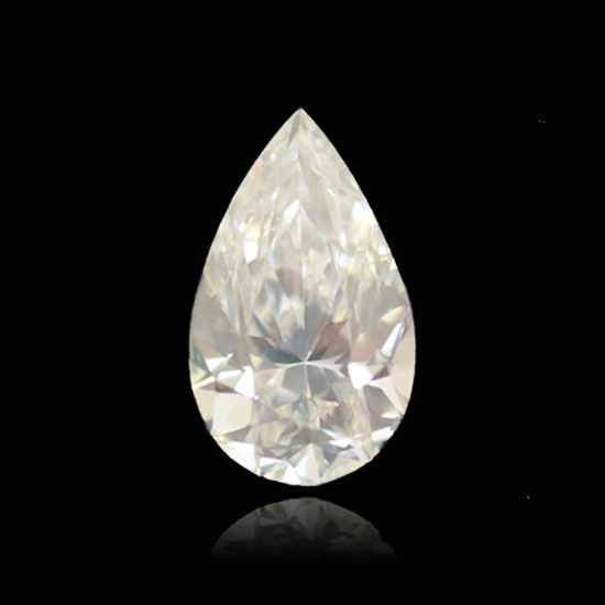 Colorless Diamond, Pear, E, 1.26 Carat