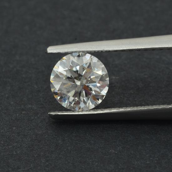 Colorless Diamond, Round, F, 1.13 Carat