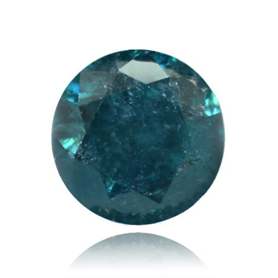 Blue Diamond, Round, Fancy Vivid Blue, 1.75 Carat