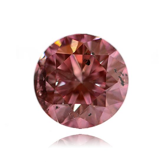 Pink Diamond, Round, Fancy Vivid Pink, 0.60 Carat