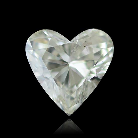 Colorless Diamond, Heart, G, 1.07 Carat