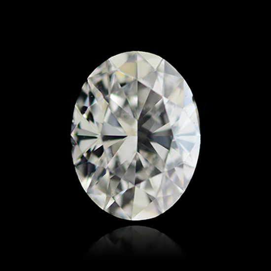 Colorless Diamond, Oval, G, 3.25 Carat