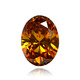 Deep Orange Pink Diamond
