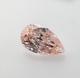Intense Orangy Pink Diamond