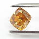 Vivid Brown Orange Diamond