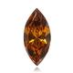 Vivid Pinkish Orange Diamond