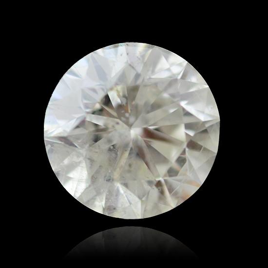 Colorless Diamond, Round, J, 2.22 Carat