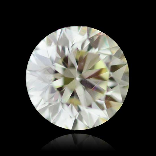 Colorless Diamond, Round, J, 1.27 Carat