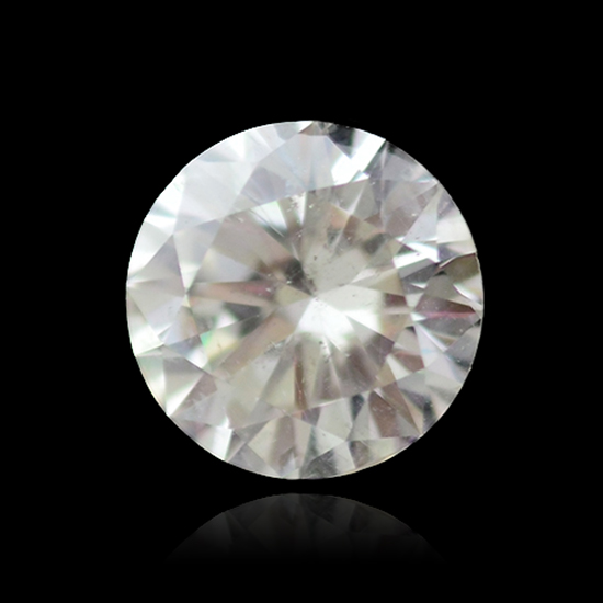 Colorless Diamond, Round, J, 1.53 Carat
