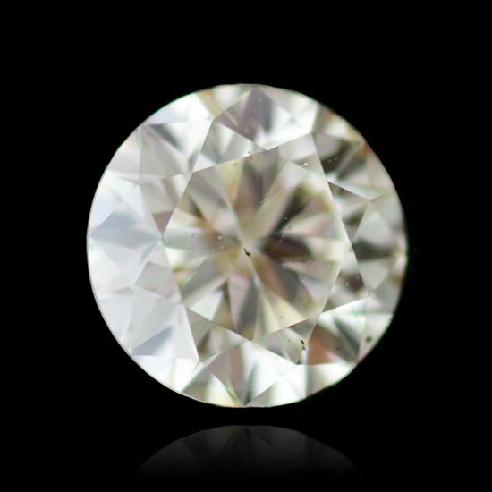 Colorless Diamond, Round, K, 1.71 Carat