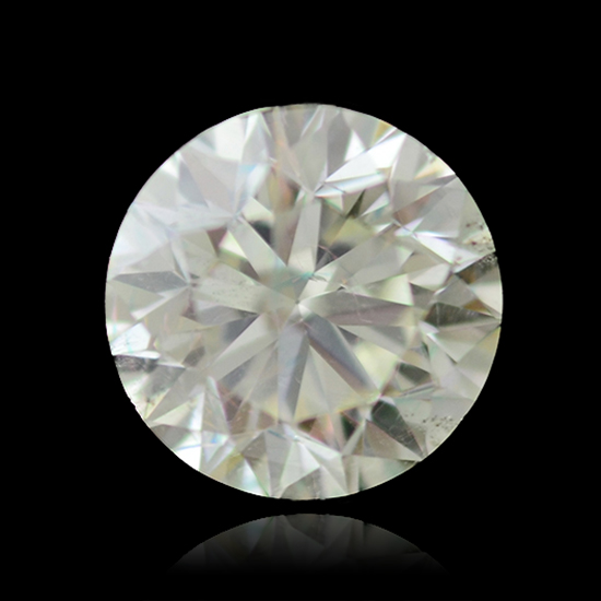 Colorless Diamond, Round, K, 1.92 Carat
