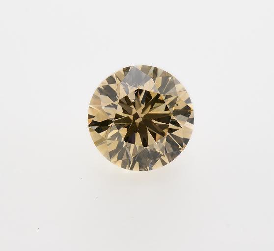 Colorless Diamond, Round, Y-Z, 2.42 Carat